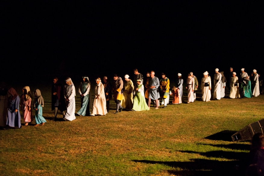 Procession du corbillard