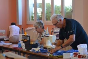Atelier couture des Baladins du Val d'Auge