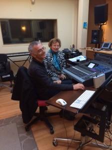Isaac et Mireille ont commencé un long travail d'enregistrement