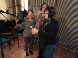 Maryvonne, Odile et Viviane se prêtent au jeu
